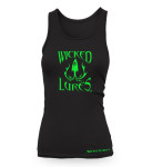 CLOTHING-TANK-WOMENS-GREEN-ON-BLACK01-01-FRONT